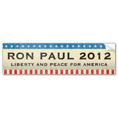 Ron Paul for President in 2012