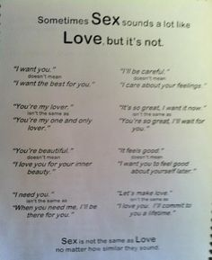Love or Lust? Know the difference!