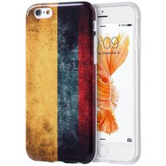 DW Graphic IMD TPU iPhone 6/6S Plus Case - Vintage Flag (Colombia)