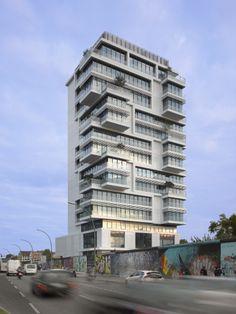 Living Levels | Architect Magazine | Sergei Tchoban, nps tchoban voss, Berlin, Berlin, GERMANY, Multifamily, New Construction, Modern