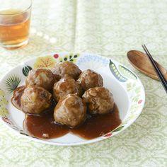 常備菜レシピ05:ミートボールフルタさんに教わる常備菜レシピの5つめは、ミートボールです。先日、社食でも出していただいたのですが、スタッフたちにも大好評の満足感たっぷりのメニューでしたよ!今回は、甘酢