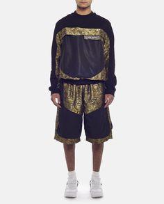 Jacquard Holster Back Sweatshirt - SHOWstudio