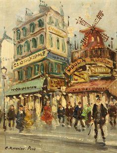 Moulin Rouge- Konstantin Korovin