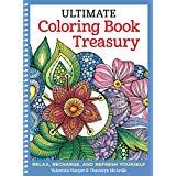 Ultimate Coloring Book Treasury: Relax, Recharge, and Refresh Yourself (Design Originals) 208 Pages of Beautiful One-Side-Only Designs on Extra-Thick, Perforated Paper in a Spiral Lay-Flat Binding by Valentina Harper - Design Originals Coloring Tips, Coloring Pages For Kids, Free Coloring, Adult Coloring, Coloring Books, Basic Art Techniques, 2nd Grade Reading Worksheets, Paper Stand, To Color