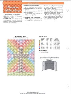 Pattern for bible cover