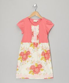 Strawberry Serenade Mya Dress - Infant, Toddler & Girls by Swanky Baby Vintage