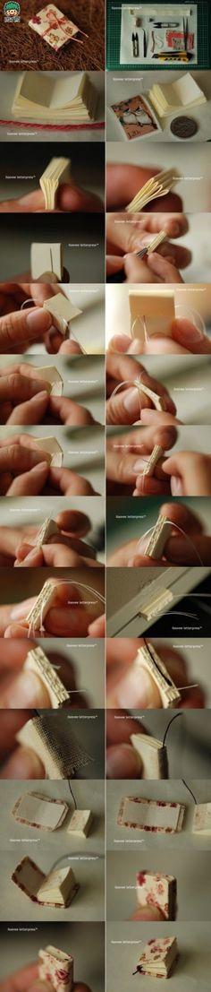 一款灰常可爱的碎花小本子DIY图解。通常本子都写了一半不写了,可以将剩下的纸张自己DIY一本碎花小本子,大小可随自己心意,随身携带起来很方便哦!快动动手装点你的生活吧!