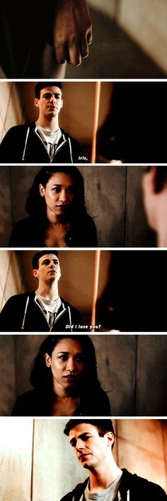 "#TheFlash 3x16 ""Into the Speed Force"" - ""Did I lose you?"" - #BarryAllen #IrisWest"