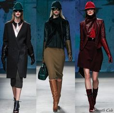 Kenneth Cole Collection Fall/Winter 2013 Runway Looks