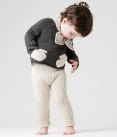 Another unique, irresistible piece from Oeuf! Their classic Hug Me sweater is a child favorite. Kids love to put their hands in the special mitten-shaped patch pockets on the Hug Me Sweater. Made from the softest organic alpaca wool, this sweater will keep your little one (and their hands!) warm all winter long. A back button makes for easy dressing.