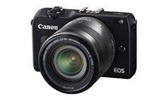 Canon EOS M2 Mark II 18.0 MP Digital Camera with 18-55MM F/3.5-5.6 IS EF-M STM Lens (Black)  18.0-megapixel APS-C CMOS sensor, DIGIC 5 processing, 18-55MM F/3.5-5.6 IS EF-M STM Lens