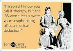 scarpbooking therapy