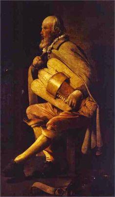 TICMUSart: The Hurdy-Gurdy Player - Georges de la Tour (1625)...