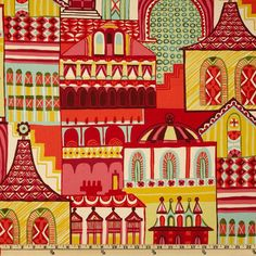 Zhivago traditional  Russian folklore fabric