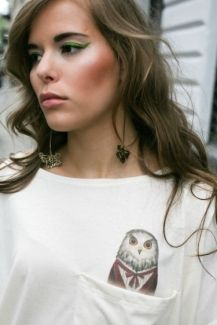 owl print Owl Print, Brooch, Animal, Elegant, Jewelry, Tops, Fashion, Classy, Moda