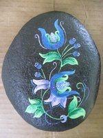 Big blue flowers on black:$25. Order at ehc16e@yahoo.com