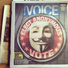 bagged a village voice cover