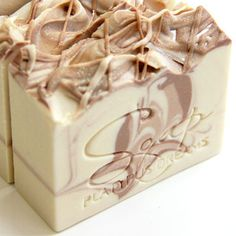 Cashmere Creme Gourmet Soap   these soaps look good enough to eat