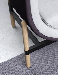 Capsule Lounge | soft seating from the Palau collectie of Casala White Washed Oak, Interior Design Awards, Soft Seating, Wishbone Chair, Solid Oak, Diy Furniture, Upholstery, Cushions, Lounge