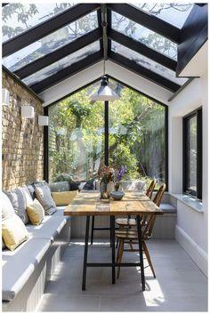 House Design, Home, House Exterior, Interior Garden, Dreamy Bedrooms, House Interior, Open Plan Kitchen Diner, Large Open Plan Kitchens, Interior Design