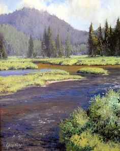 Yellowstone River, by Michael Godfrey