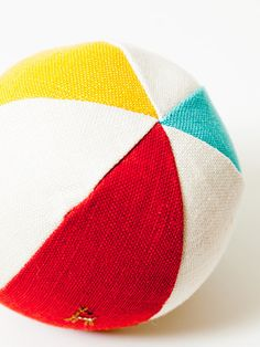Nakagawa Soft Linen Toy Ball