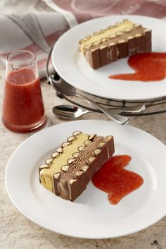Make this impressive and easy chocolate finger terrine to impress your friends. Use any leftover biscuit pieces and ice cream combined to make cookies and cream ice cream for another day!