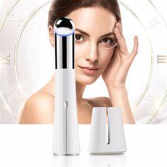 Face Eye Beauty Massager Pen Remove Wrinkles Dark Circles Negative ion Microseismic Massage Promote Skin Import Absorb Nutrient