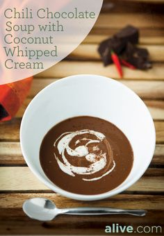 This rich and spicy #dessert #soup is sure to help you break out of the winter doldrums. alive.com