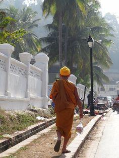 Luang Prabang, Laos - Moi, mes souliers