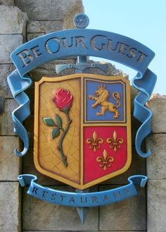 Be Our Guest restaurant in Magic Kingdom, Disney World