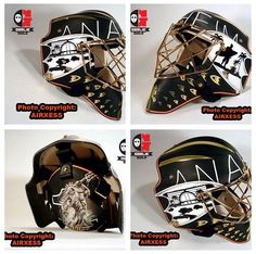Check out @Anaheim Ducks's Jonas Hiller's new mask (courtesy @TheGoalieGuild). Thoughts, Ducks fans?