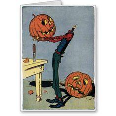 Always Halloween: Halloween illustration Halloween Retro, Vintage Halloween Cards, Halloween Pictures, Halloween Horror, Holidays Halloween, Happy Halloween, Halloween Decorations, Halloween Halloween, Halloween Illustration