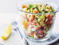 Bunter Weizen-Salat