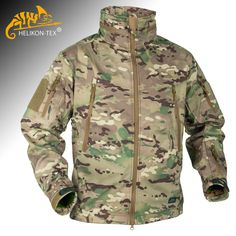 This Helikon Gunfighter Jacket is a part of Military 1st range of quality soft shells & one of our most popular windblockers. It offers maximum protection against light rain & wind, and comes with adjustable hood, 5 pockets & underarm ventilation zips. Only £105.00! Find more details on our website. Free UK delivery & returns.