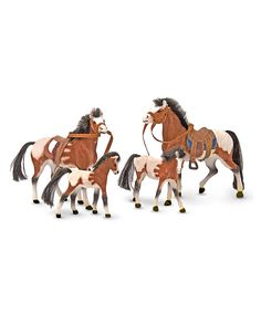 Take a look at this Melissa & Doug Horse Family Set today!