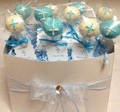 Baptism Cake Pops w/tags
