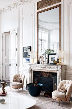 via heavywait - modern design architecture interior design home decor & Style At Home, Home Living, Living Spaces, Parisian Decor, Man Cave Home Bar, Interior Decorating, Interior Design, First Apartment, Bars For Home