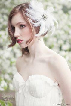 enchanted atelier bridal accessries spring 2013 sophie plume