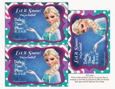Colorido Kit de Frozen para Imprimir Gratis.