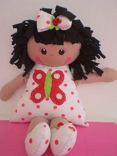 boneca bebel by Ateliê B de Boneca, via Flickr