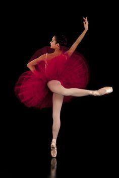 Beautiful-Red-Half-Tutu-9-Layers-on-Lycra-Pants-Ballet-Dance-Costumes-Lots