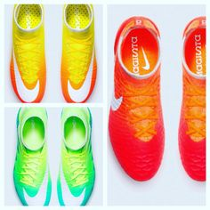 Mercurial, Magista and hypervenom.