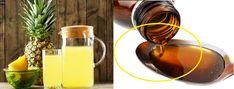 Syrop na przeziębienie – kurkuma i ananas działają cuda! Alcoholic Drinks, Wine, Healthy, Glass, Pineapple, Turmeric, Drinkware, Corning Glass, Liquor Drinks
