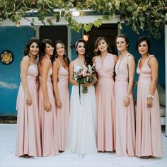 Need help curating a cohesive group of mismatched bridesmaid dresses? We've put together a list of tips to mix it up with your bridal party style. Bridesmaid Dresses Australia, Wedding Dresses Sydney, Mismatched Bridesmaid Dresses, Brides And Bridesmaids, Mismatched Groomsmen, Perfect Wedding Dress, Bridal, Wedding App, Wedding Pics