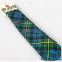McEwen Tartan Tie. Free worldwide shipping available