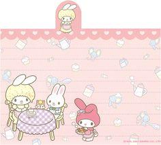 "Sanrio My Melody ""Variety"" Memo (Sheet) (3) | crazysugarbunny | Flickr"