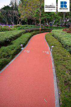 Decoflex D14 Rubber Jogging Track @ Victoria Park, Hong Kong