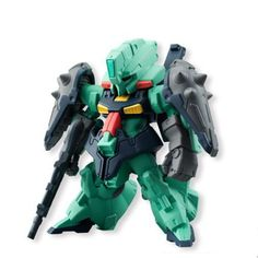 This is a Gundam Converge Fusion Works DIJEH SE-R Miniature Figure. These are produced by Bandai/Fusion Works and they are a Japanese import mini-figure. They're really cool and are fantastic little m