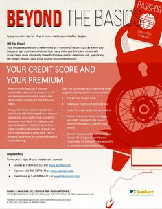 Beyond the Basics: Your Credit Score and Your Premium